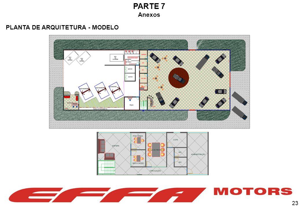 PARTE 7 Anexos PLANTA DE ARQUITETURA - MODELO 23