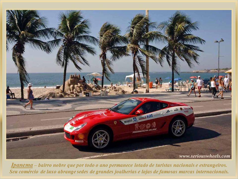 Ipanema – bairro nobre que por todo o ano permanece lotado de turistas nacionais e estrangeiros.