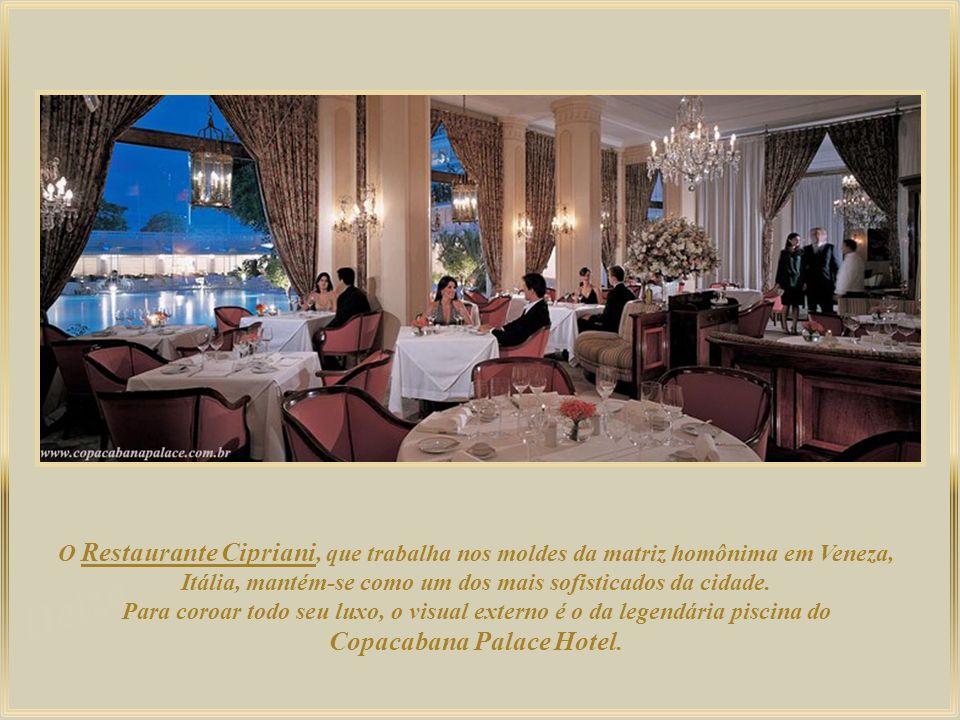 Copacabana Palace Hotel.