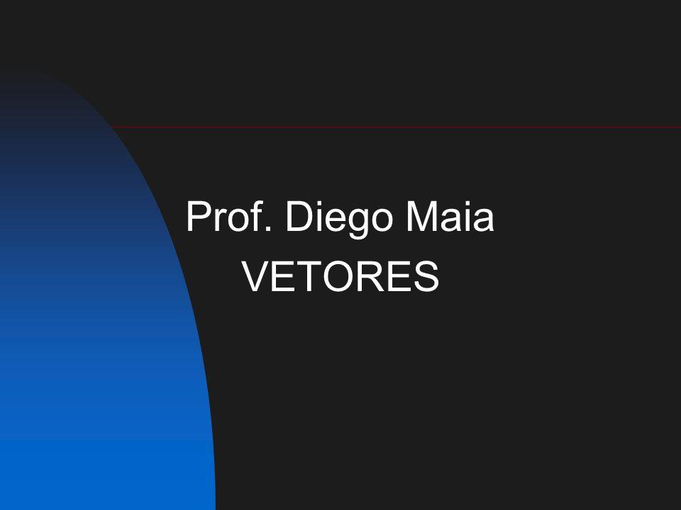 Prof. Diego Maia VETORES