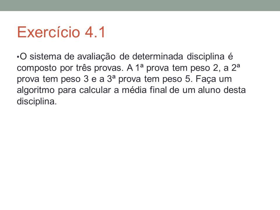 Exercício 4.1