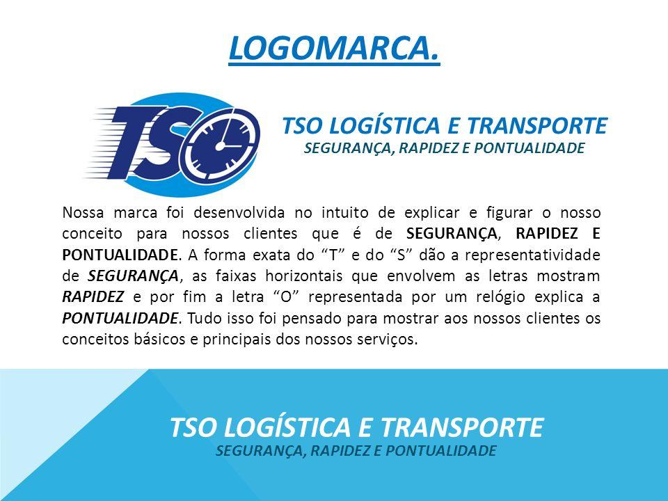 Logomarca. Tso logística e transporte Tso logística e transporte