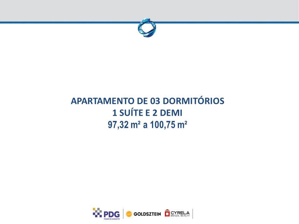 APARTAMENTO DE 03 DORMITÓRIOS