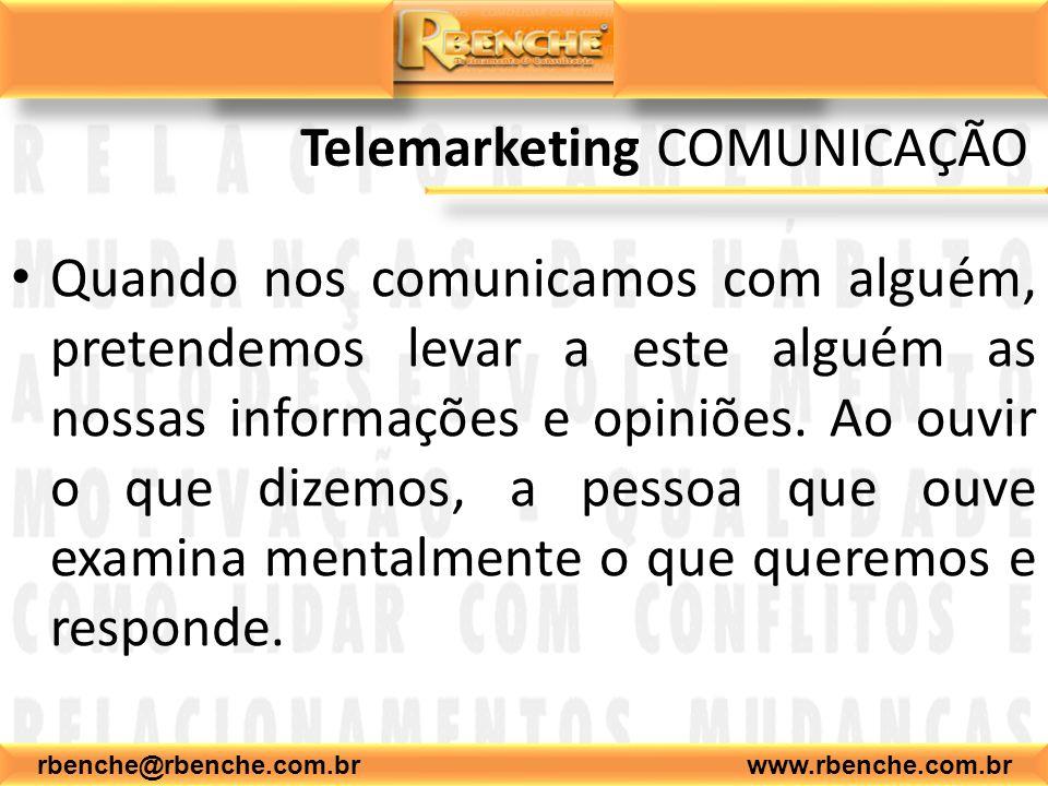 Telemarketing COMUNICAÇÃO