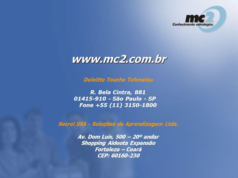 www.mc2.com.br Deloitte Touche Tohmatsu