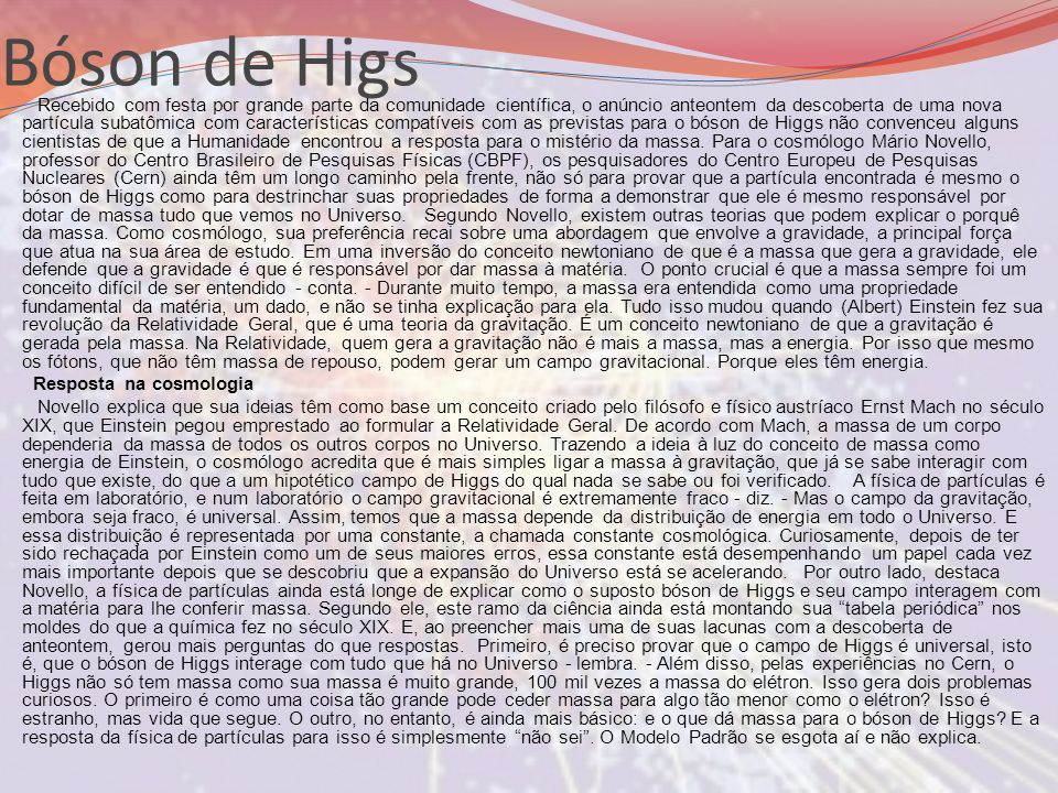 Bóson de Higs