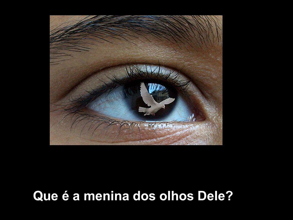 Que é a menina dos olhos Dele