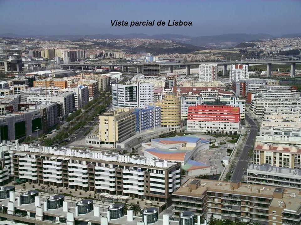 Vista parcial de Lisboa