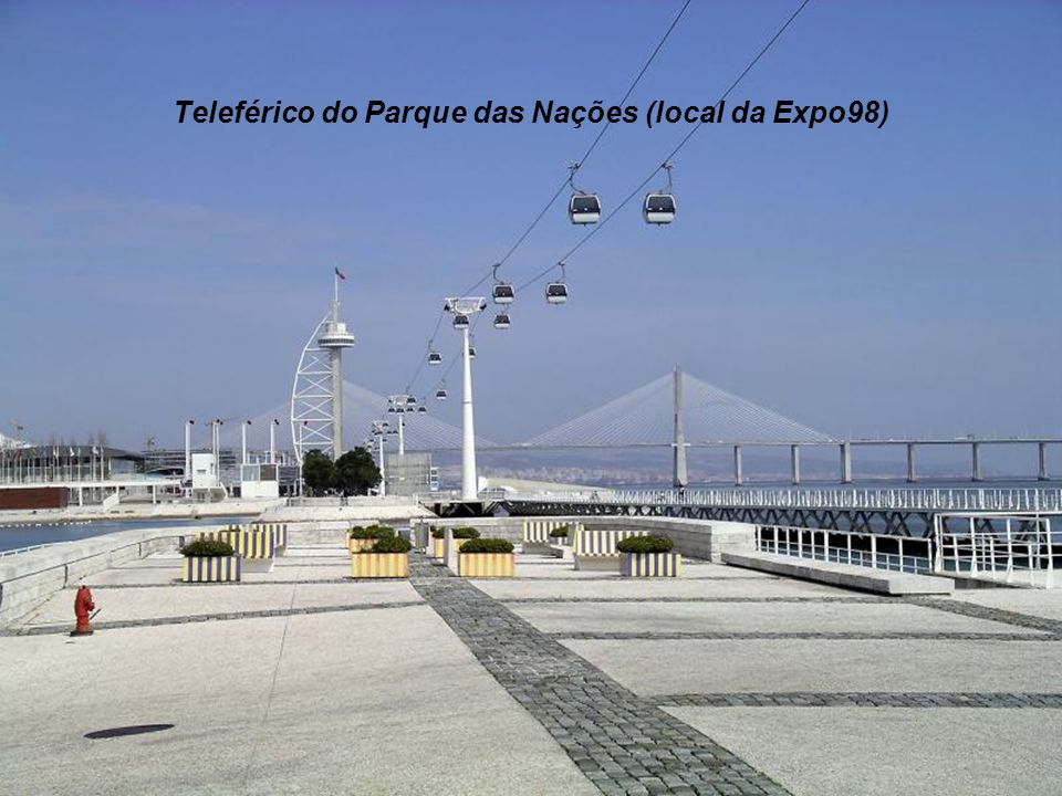 Teleférico do Parque das Nações (local da Expo98)