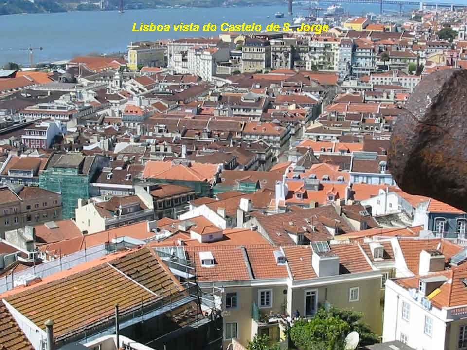 Lisboa vista do Castelo de S. Jorge