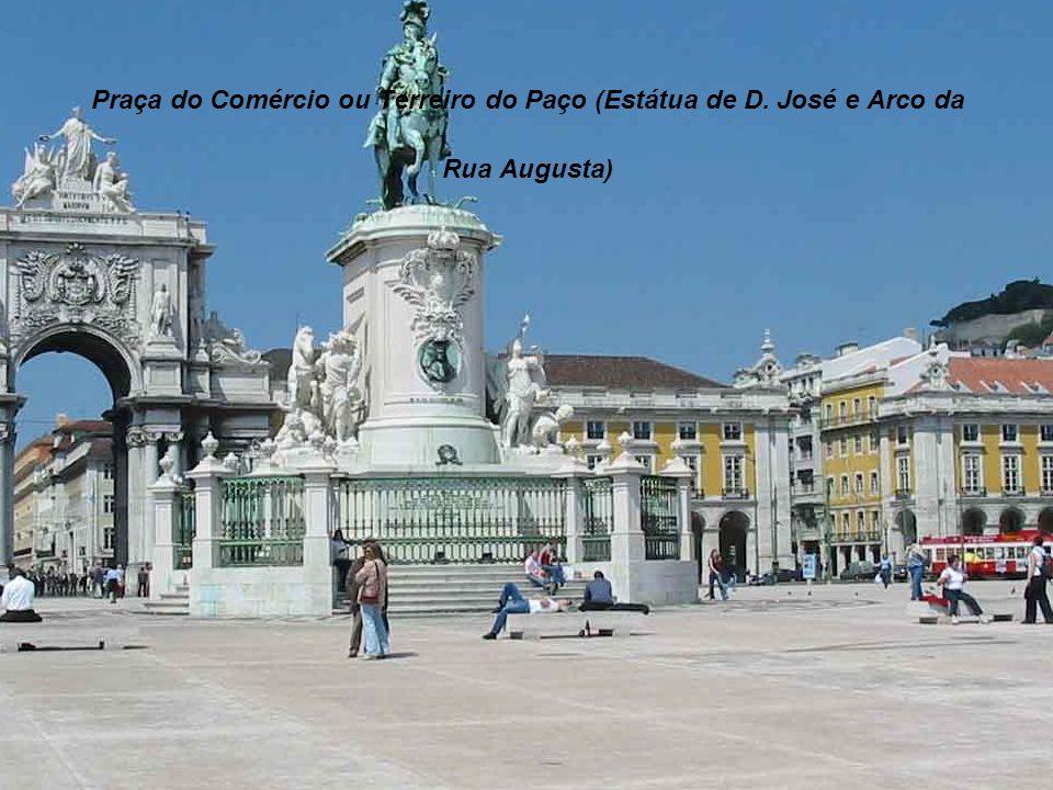 Praça do Comércio ou Terreiro do Paço (Estátua de D