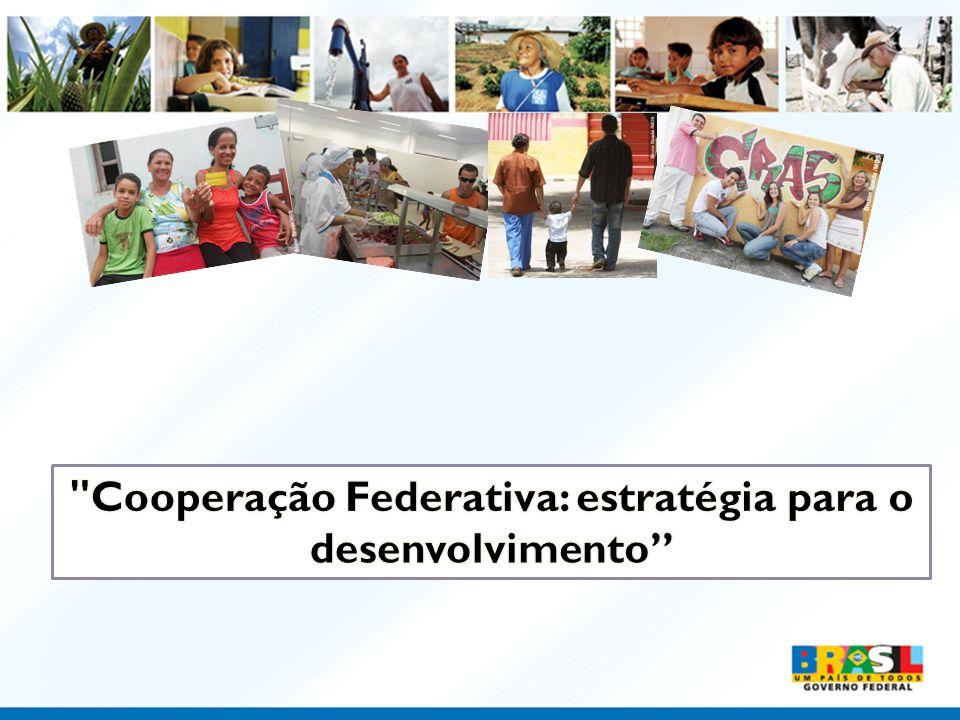 Cooperação Federativa: estratégia para o desenvolvimento