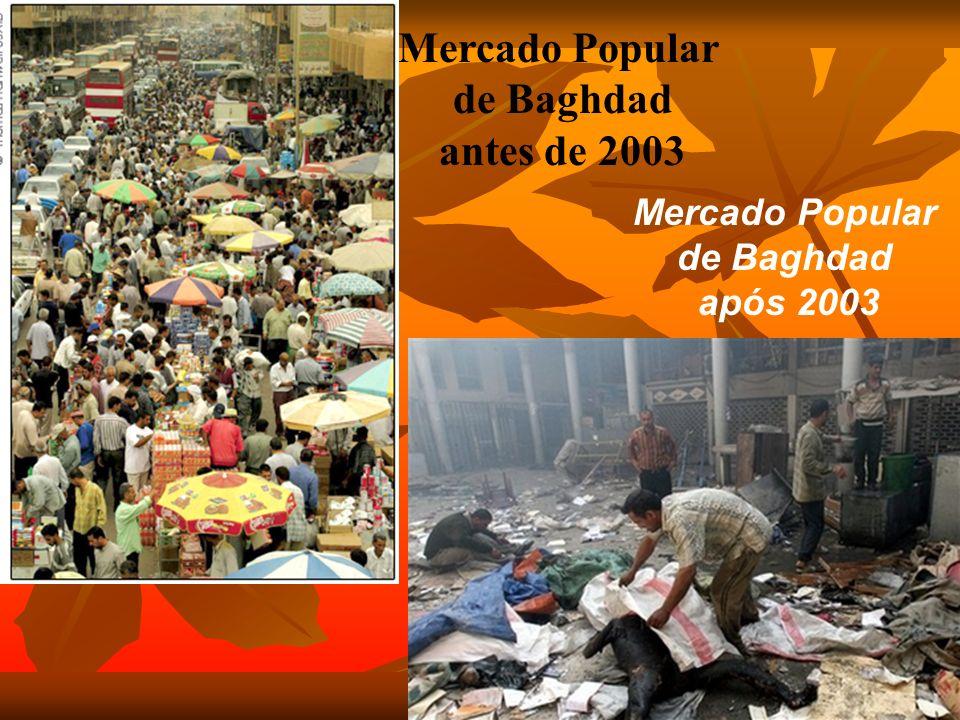 Mercado Popular de Baghdad antes de 2003