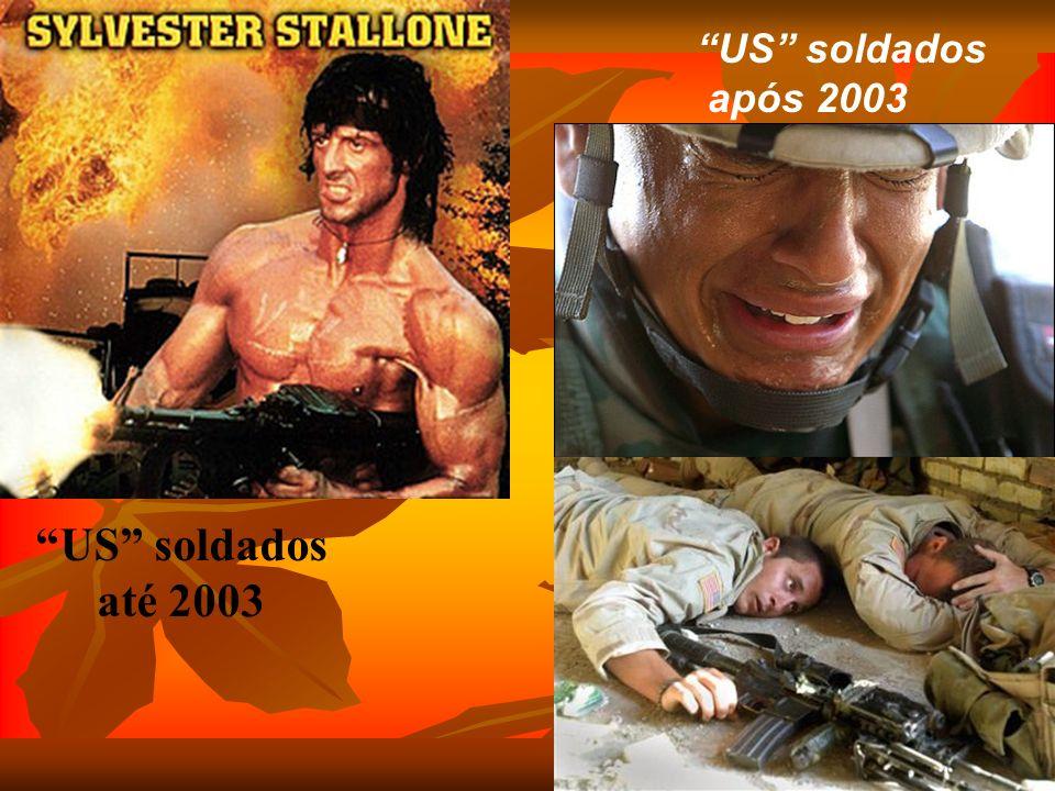 US soldados após 2003 US soldados até 2003