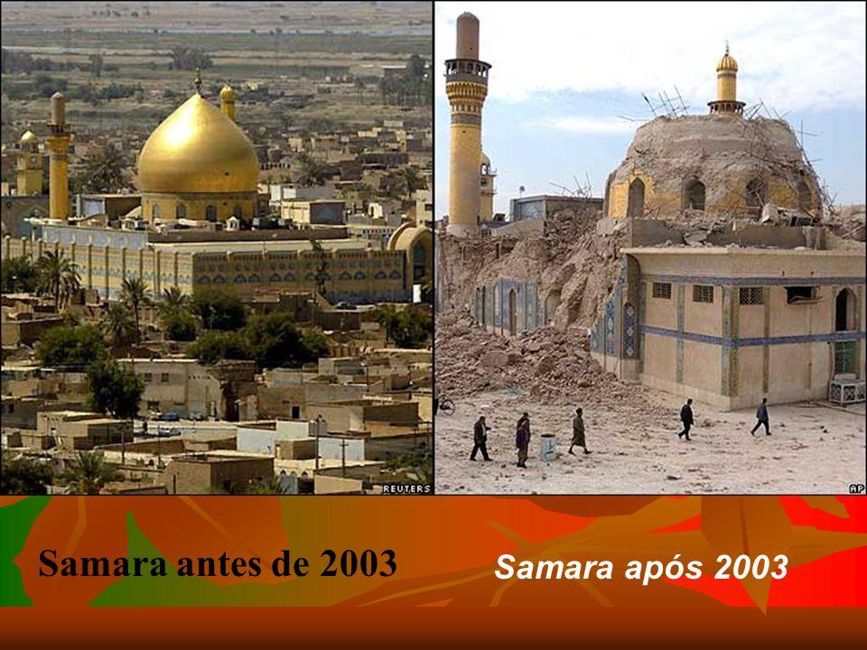 Samara antes de 2003 Samara após 2003