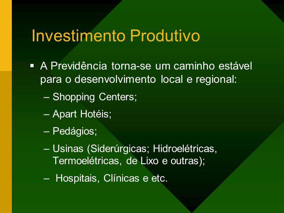 Investimento Produtivo