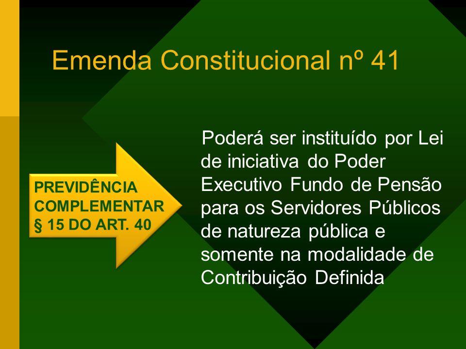 Emenda Constitucional nº 41