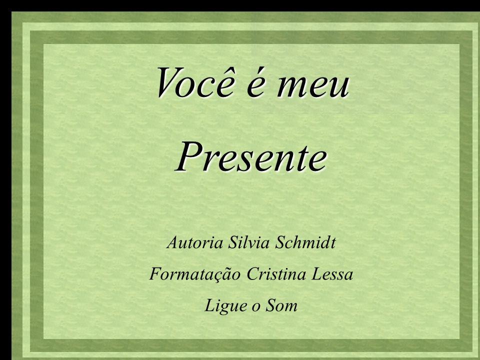 Você é meu Presente Autoria Silvia Schmidt Formatação Cristina Lessa Ligue o Som