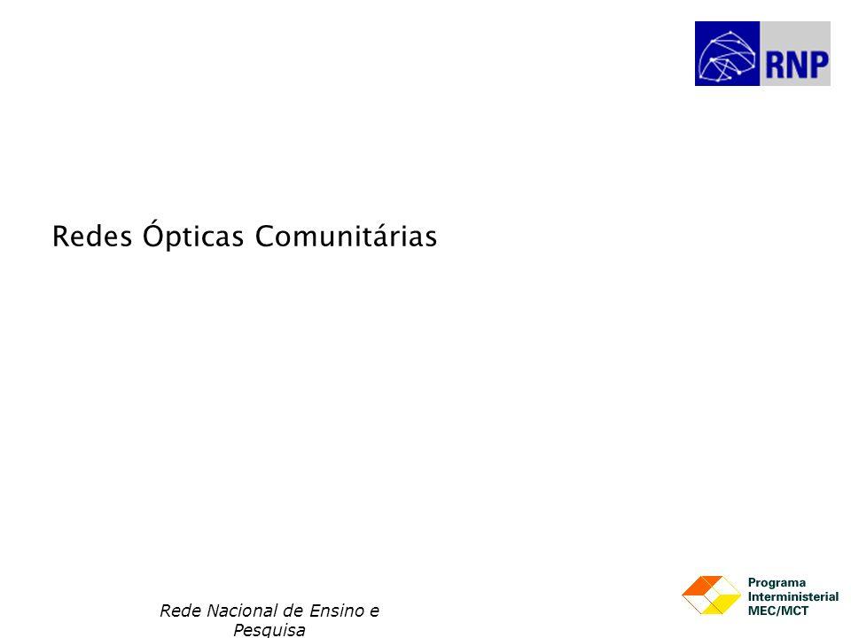 Redes Ópticas Comunitárias