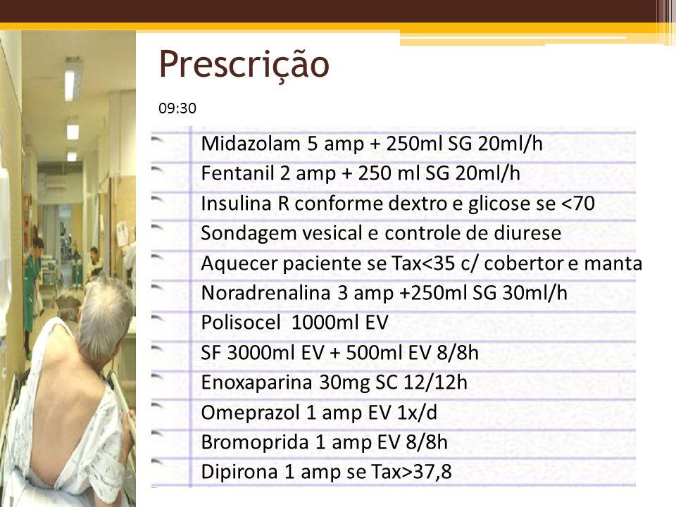 Prescrição 09:30.