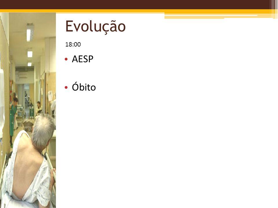 Evolução 18:00 AESP Óbito