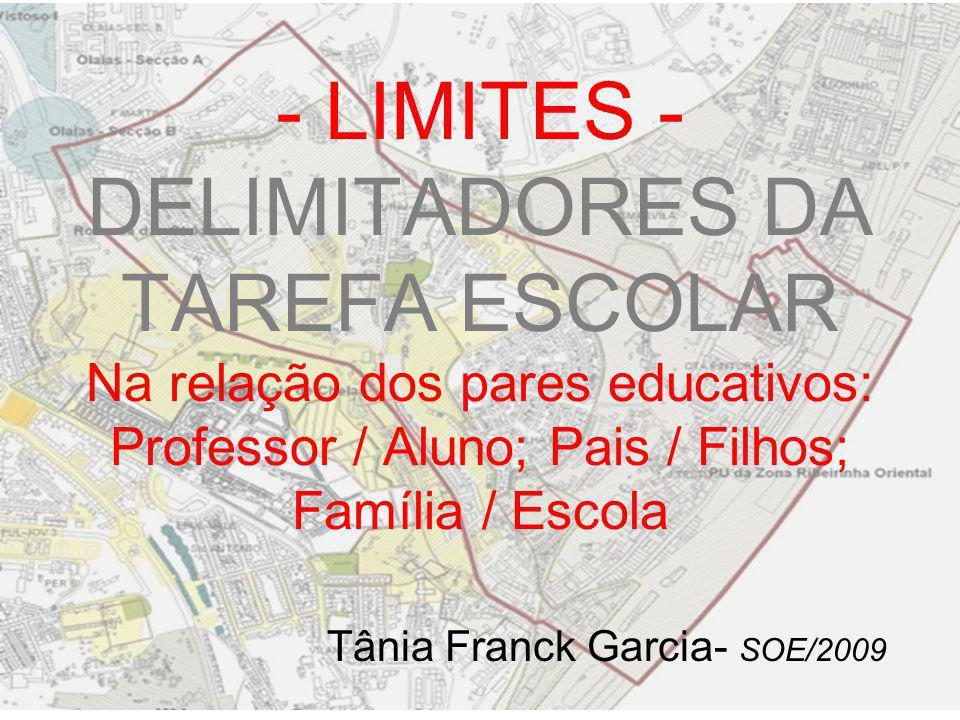 Tânia Franck Garcia- SOE/2009