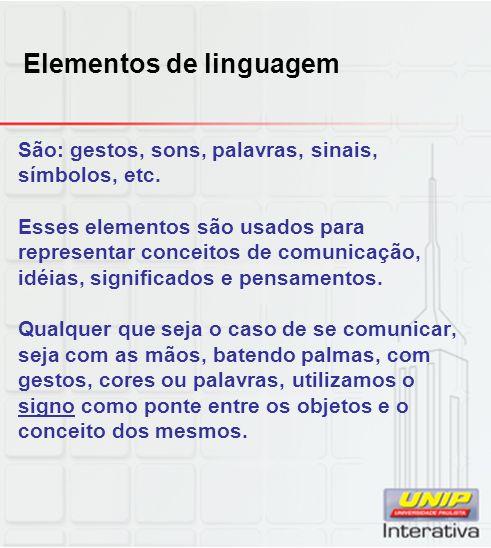 Elementos de linguagem