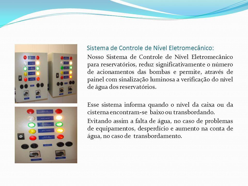 Sistema de Controle de Nível Eletromecânico: