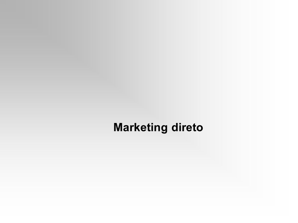 Marketing direto