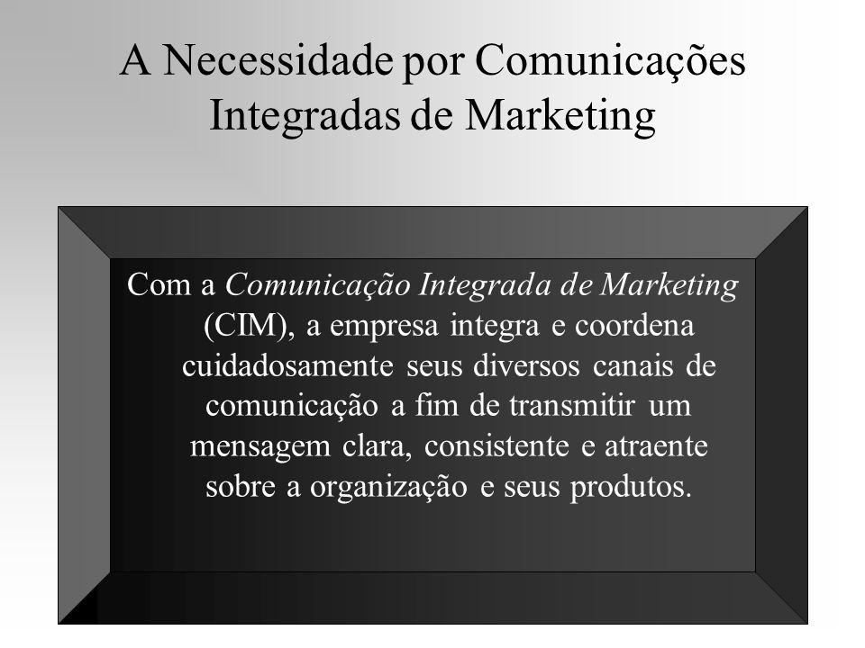 A Necessidade por Comunicações Integradas de Marketing