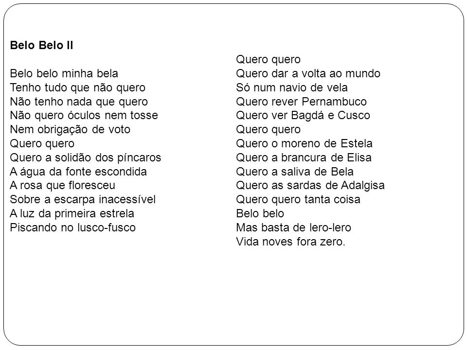 Belo Belo II
