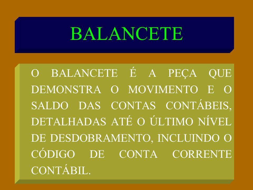 BALANCETE