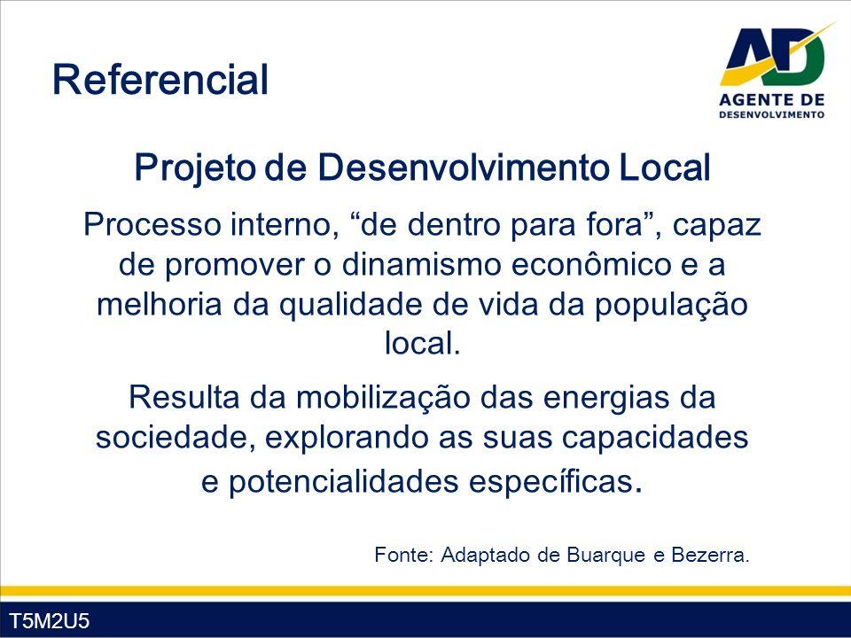 Projeto de Desenvolvimento Local