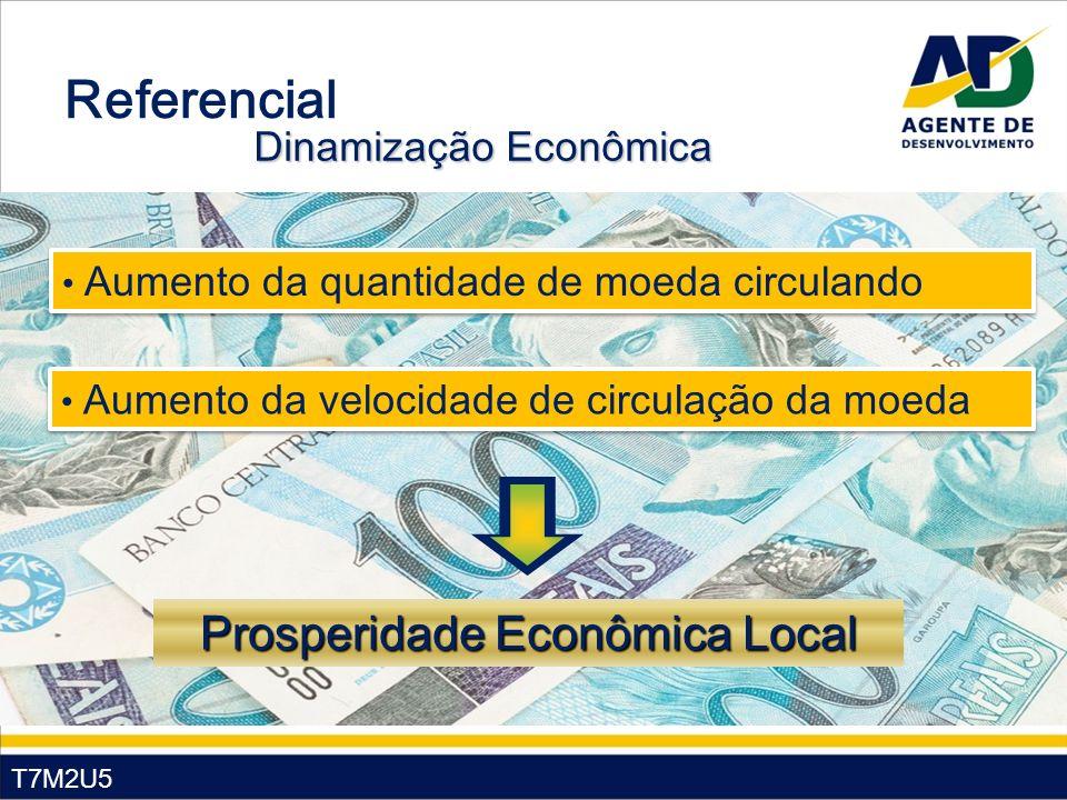 Referencial Prosperidade Econômica Local Dinamização Econômica