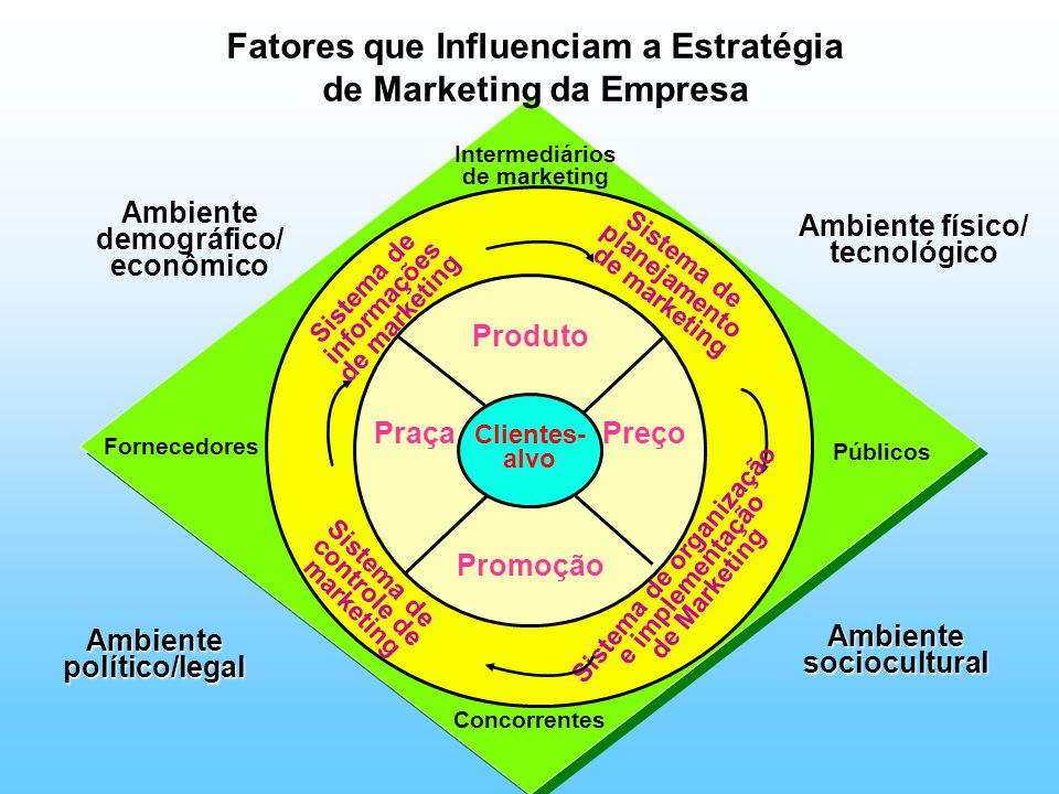 Fatores que Influenciam a Estratégia de Marketing da Empresa