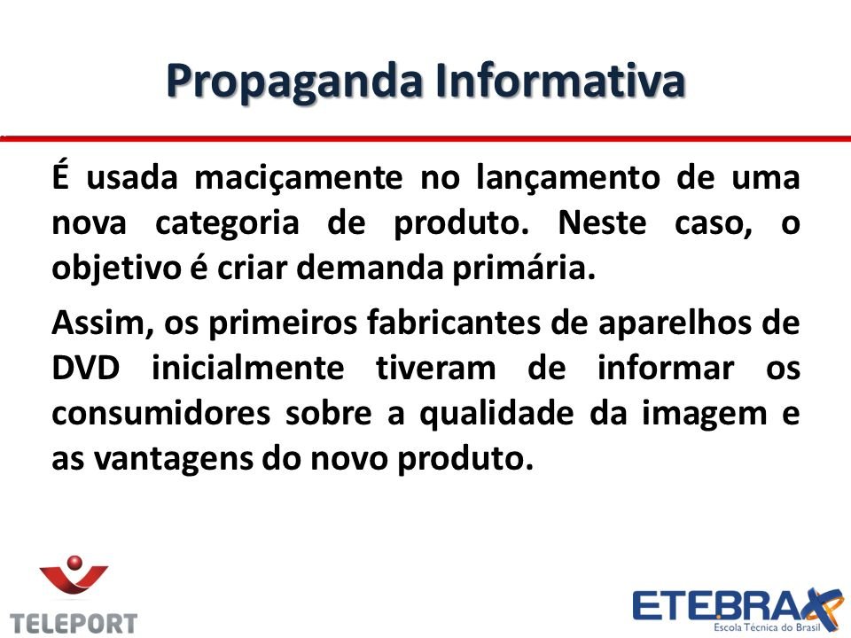 Propaganda Informativa