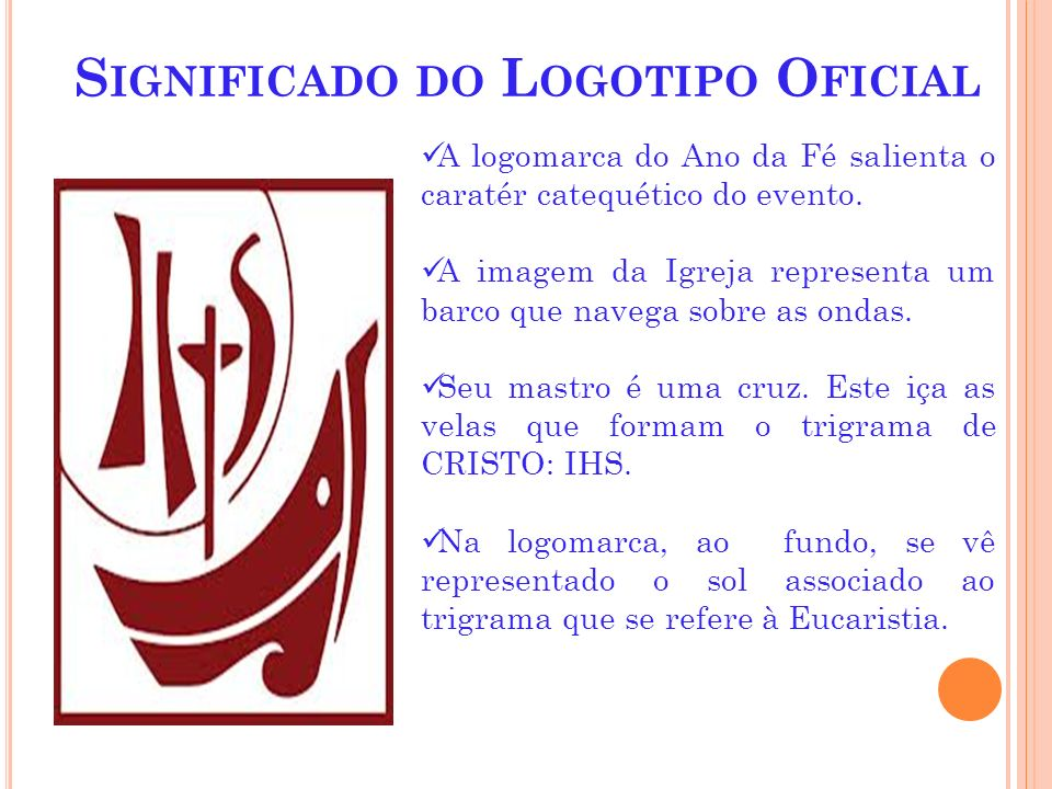 Significado do Logotipo Oficial