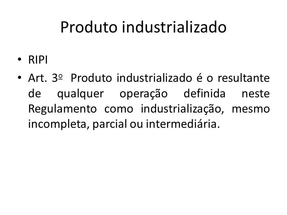 Produto industrializado