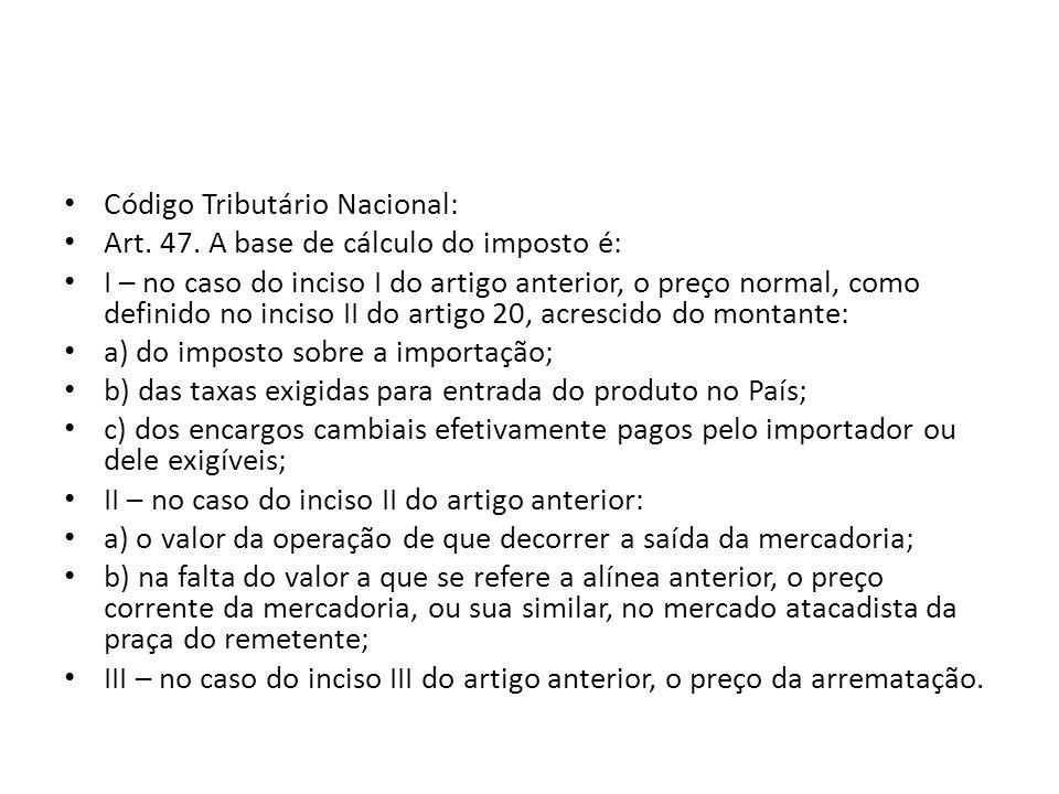Código Tributário Nacional: