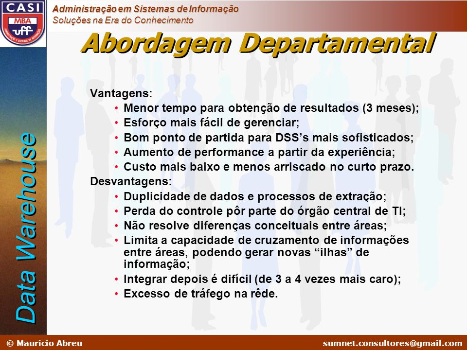 Abordagem Departamental