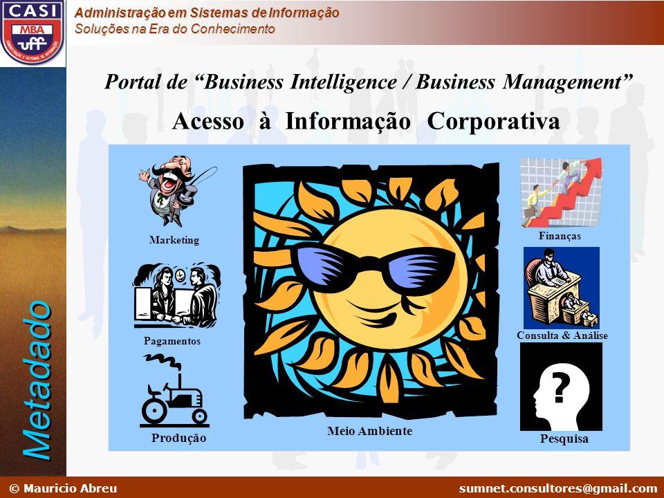Metadado Acesso à Informação Corporativa