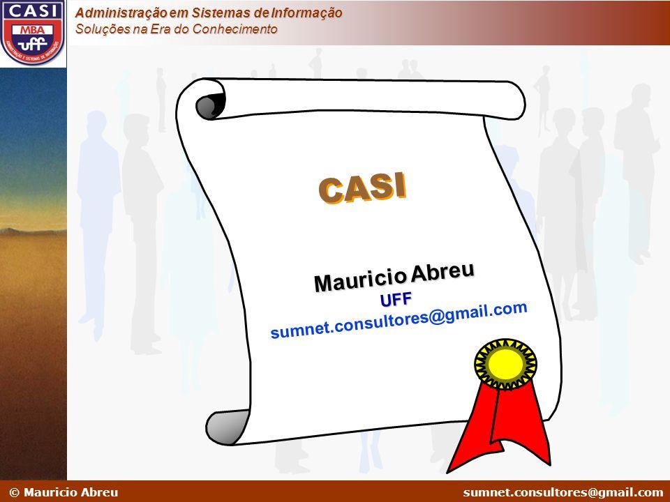 CASI Mauricio Abreu UFF sumnet.consultores@gmail.com