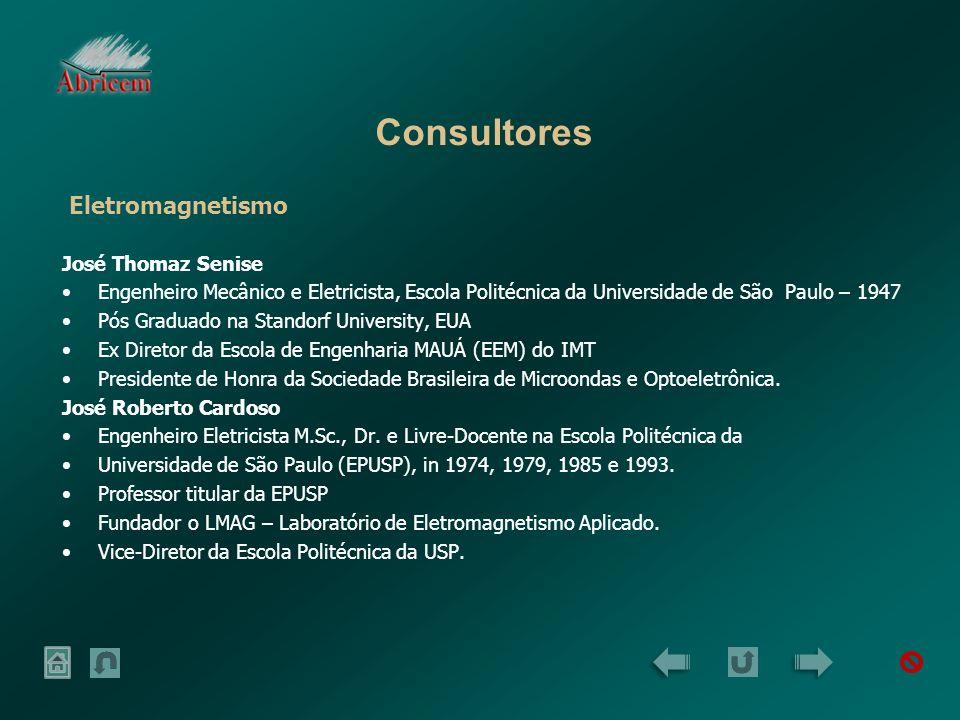 Consultores Eletromagnetismo José Thomaz Senise