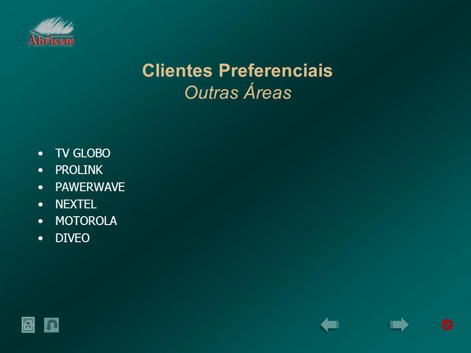 Clientes Preferenciais Outras Áreas