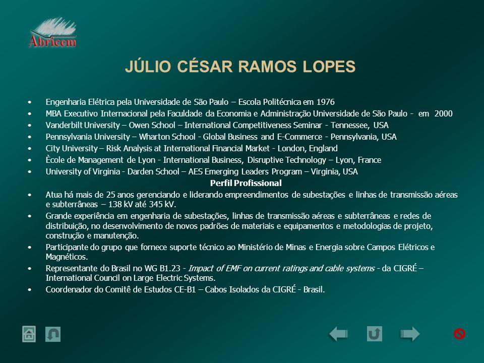 JÚLIO CÉSAR RAMOS LOPES