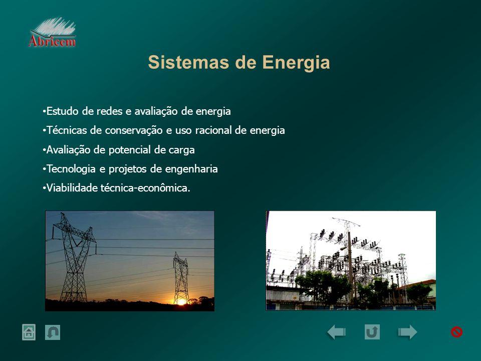 Sistemas de Energia Estudo de redes e avaliação de energia