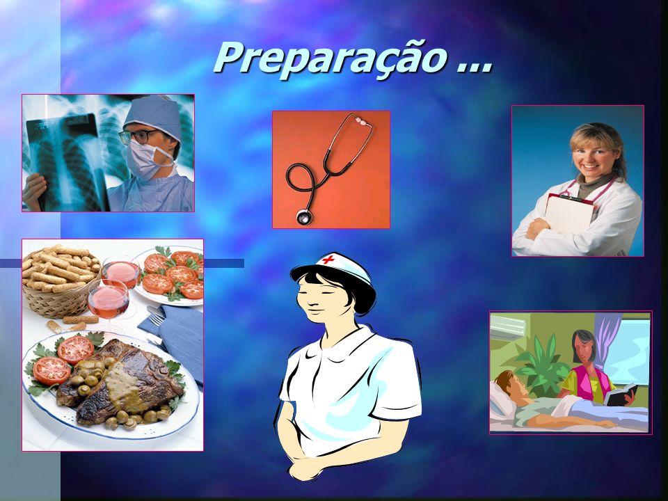 Preparação ...