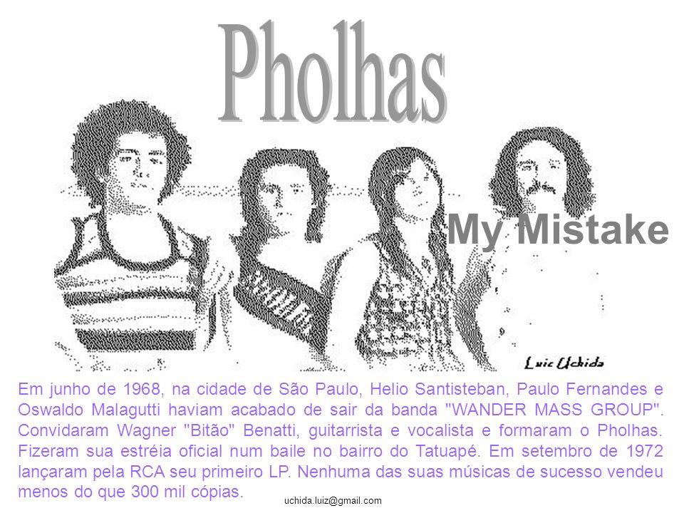 Pholhas My Mistake.