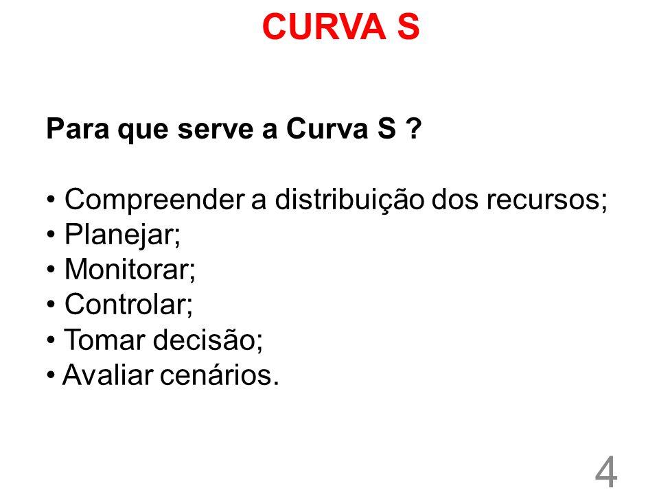 CURVA S Para que serve a Curva S