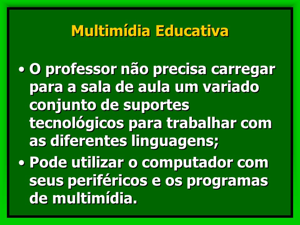 Multimídia Educativa